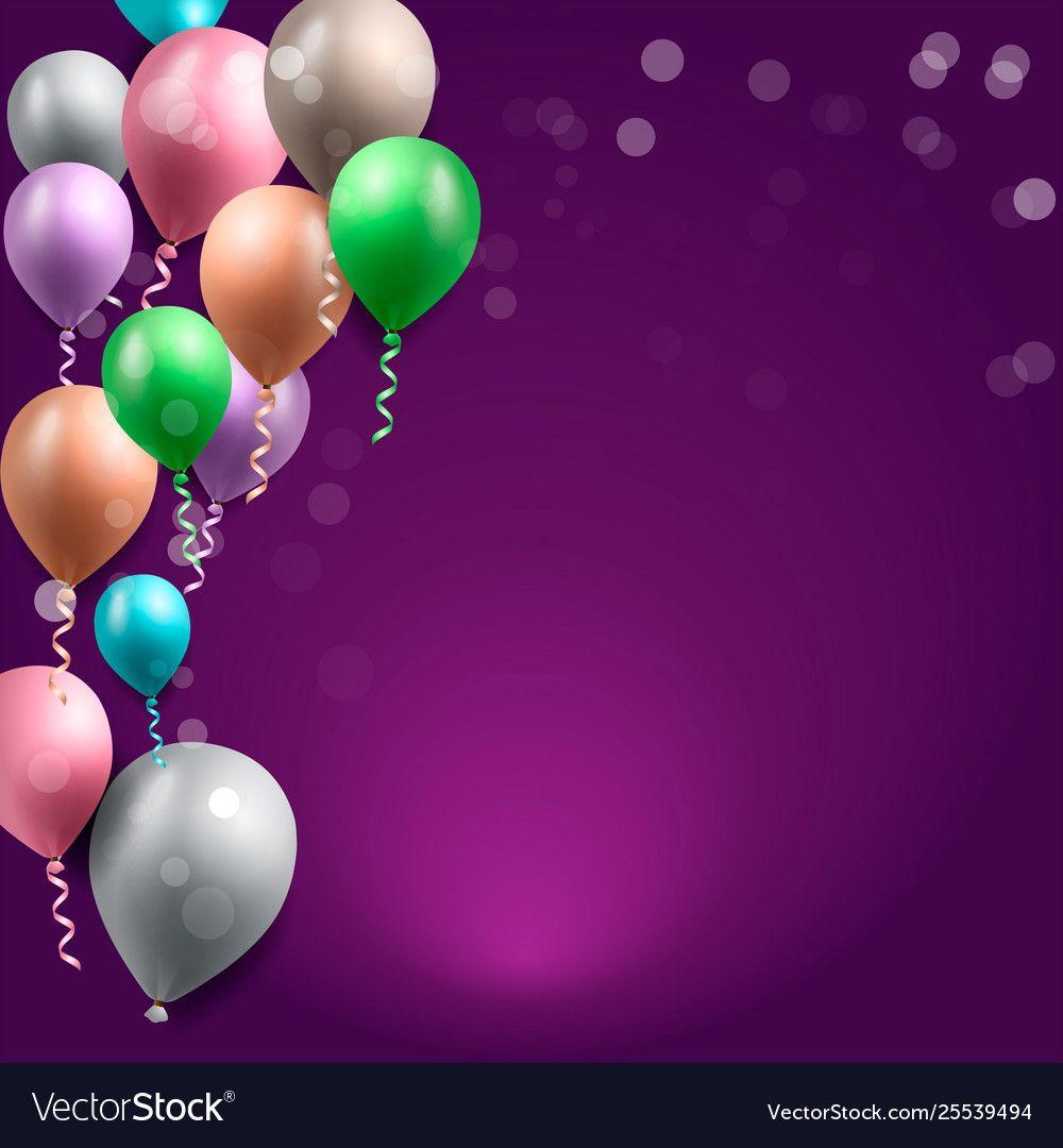 Birthday Celebration Background Birthday Balloon Wallpaper Download A Free Previ Celebration Background Birthday Background Design Birthday Background Images
