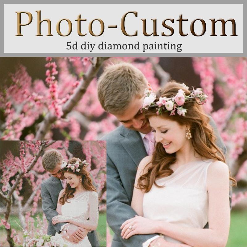 5d diy diamond painting private custom photo custom