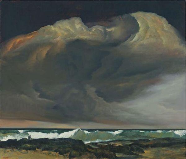 Rick Amor Sea And Storm Australian Painting Landscape Landscape Paintings