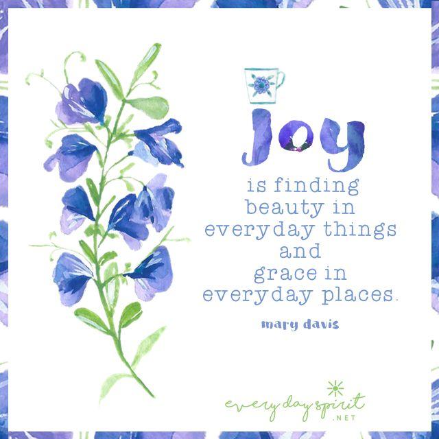 Elegant Every Day Spirit / Wisdom Joy Peace