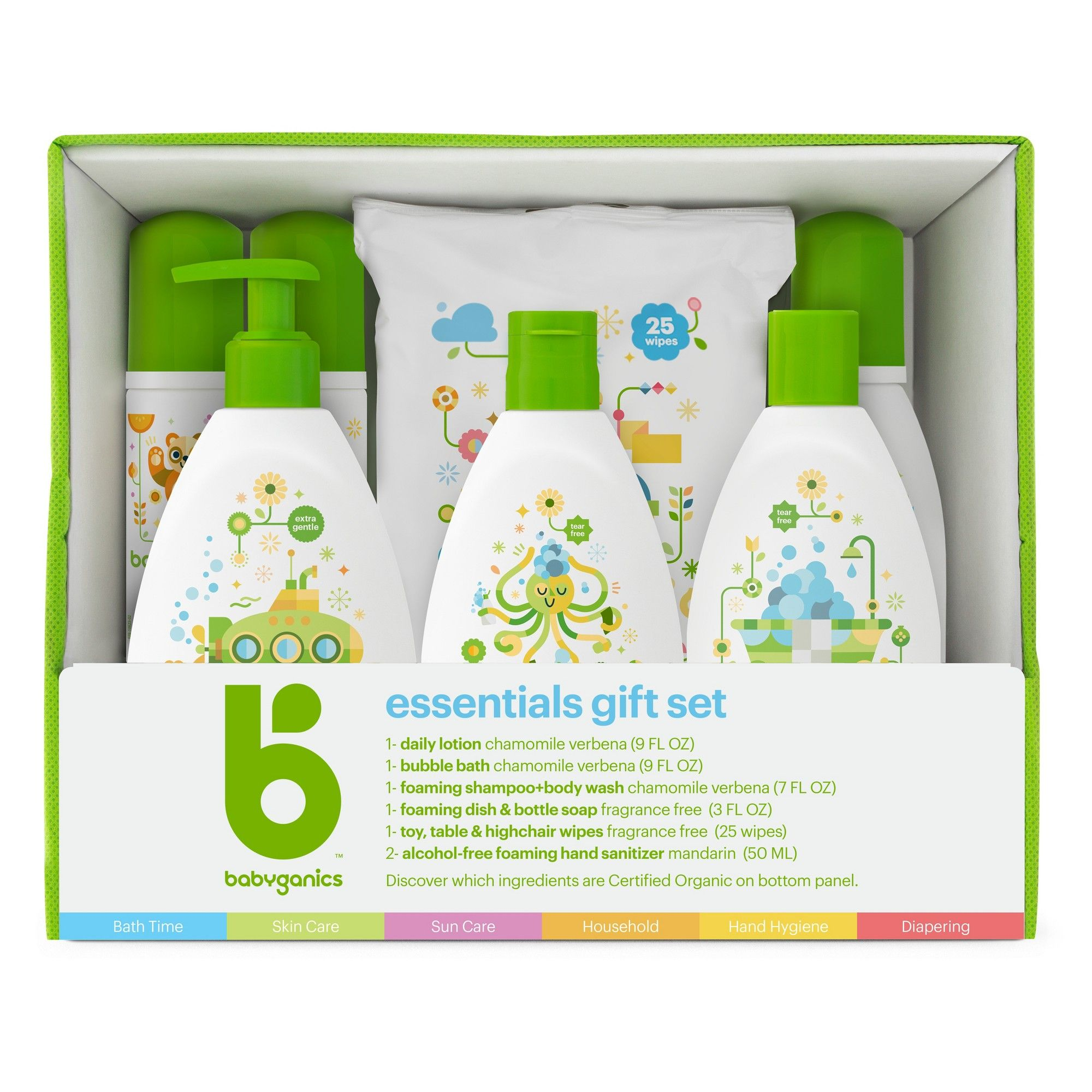 Babyganics Essentials Gift Set Babyganics Gift Set Fragrance