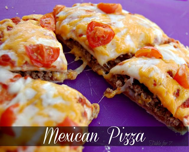 Mexican Pizza  No need for Taco Bell anymore!