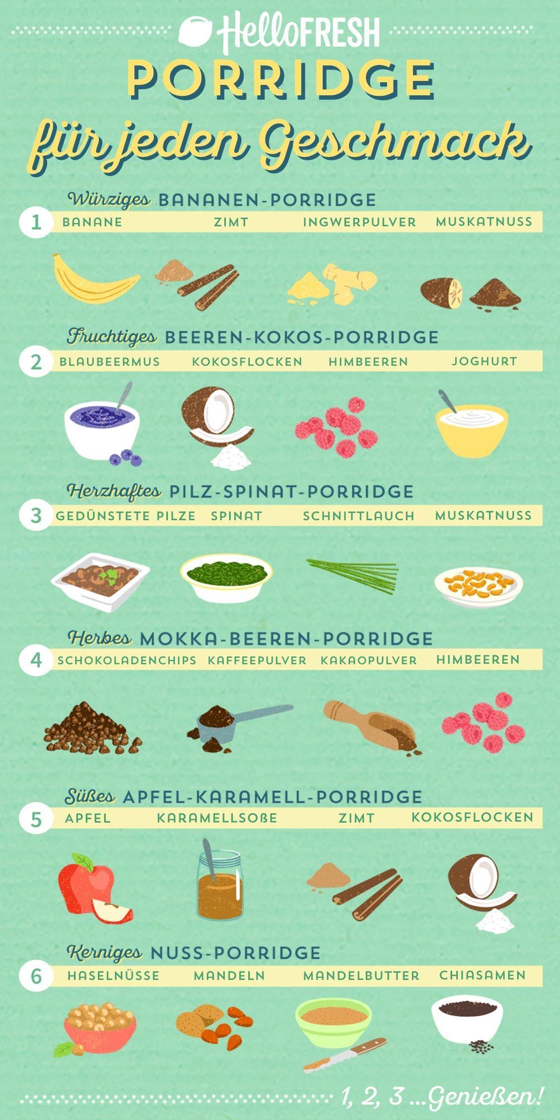 So kannst Du Porridge selber machen | HelloFresh Blog