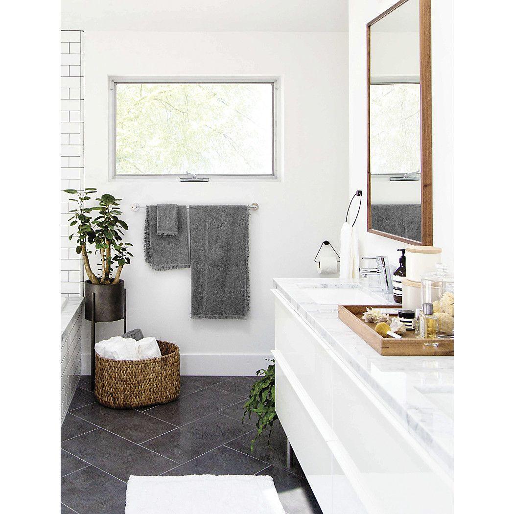 Sedona Grey Bathroom Trash Can Reviews Crate And