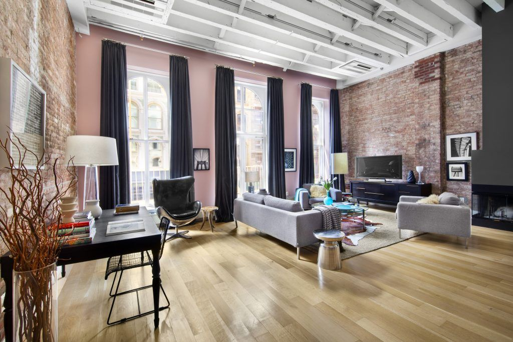 Sunny Split-Level Tribeca Condo For Sale | Condos for sale ...