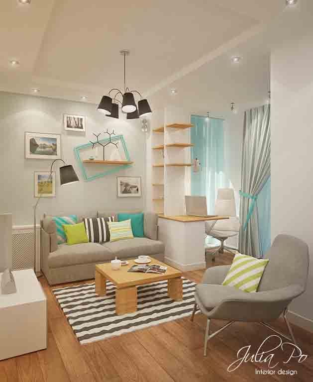 Desain ruang tamu mungil also rumah minimalis idaman decoracion rh ar pinterest