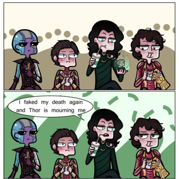 So sad Credit to:teckmonky Source: tumblr | Funnies | Marvel, Loki