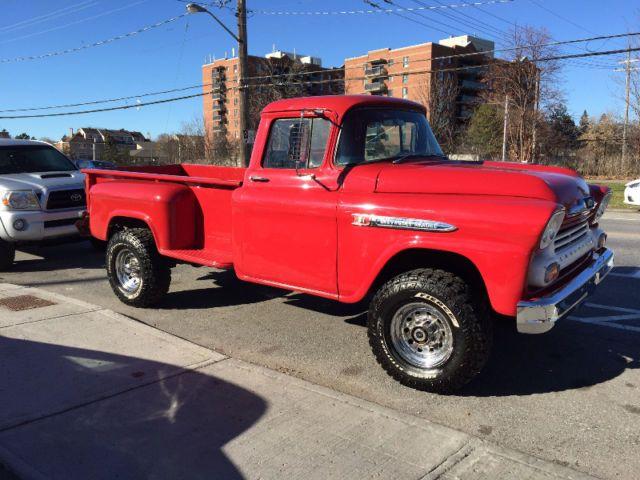 1958 Chevrolet Apache 4x4 Trades Classic Cars Ottawa