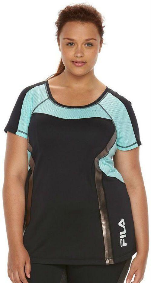 promotie exclusief assortiment in de uitverkoop Plussize Women 2X FILA SPORT Workout Top #Tee Reg. $34.00 ...
