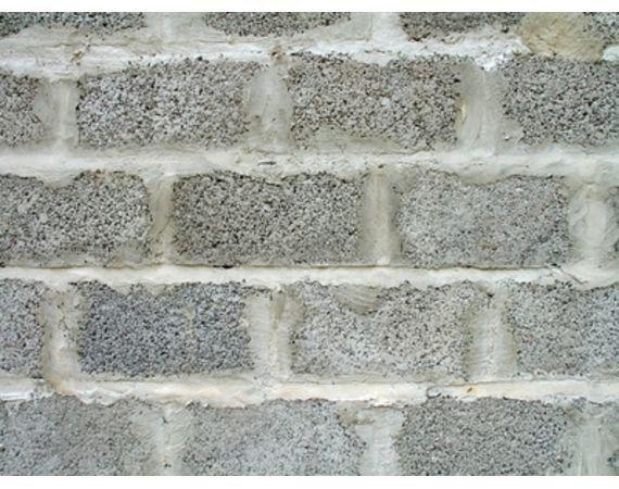 Land For Sale With Homes Built Using Solid Concrete Blocks Cinder Block Walls Basement Walls Concrete Block Walls