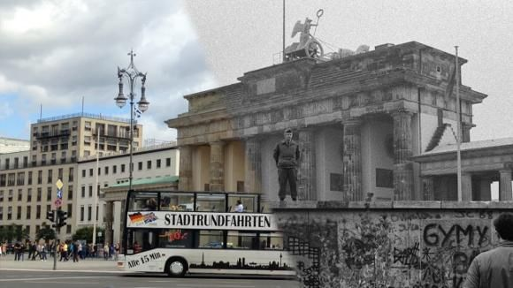 Video Years Later Berlin Then And Now A Nation Divided - Germany map then and now
