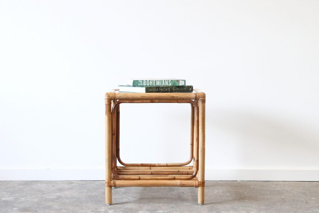 Strange San Luis Side Table Naturally Cane Rattan And Wicker Gmtry Best Dining Table And Chair Ideas Images Gmtryco