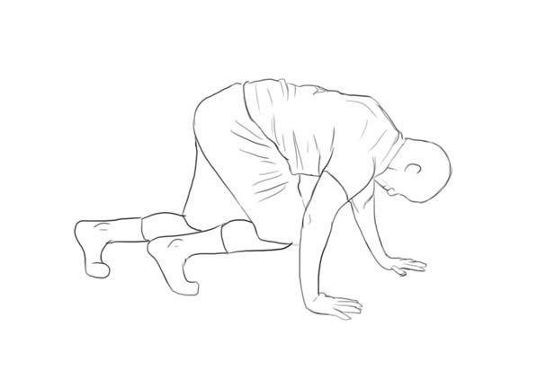 Bear Crawl - http://mytoningworkouts.com