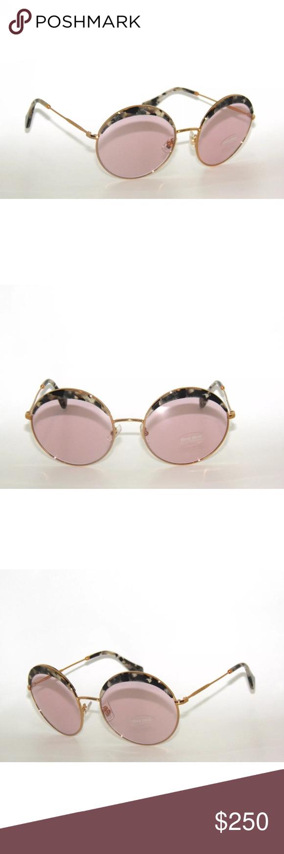 1b0aafe8f62a Miu Miu Sunglasses 51Q gold pink frame New Comes with Miu Miu case Authentic  Miu Miu Accessories Sunglasses