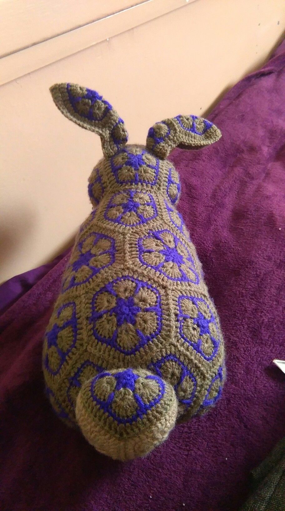 African flower bunny | hækle | Pinterest | Stofftiere, afrikanische ...