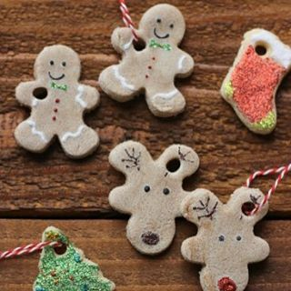 Easy Salt Dough Ornaments (Perfect Holiday Craft for Kids)