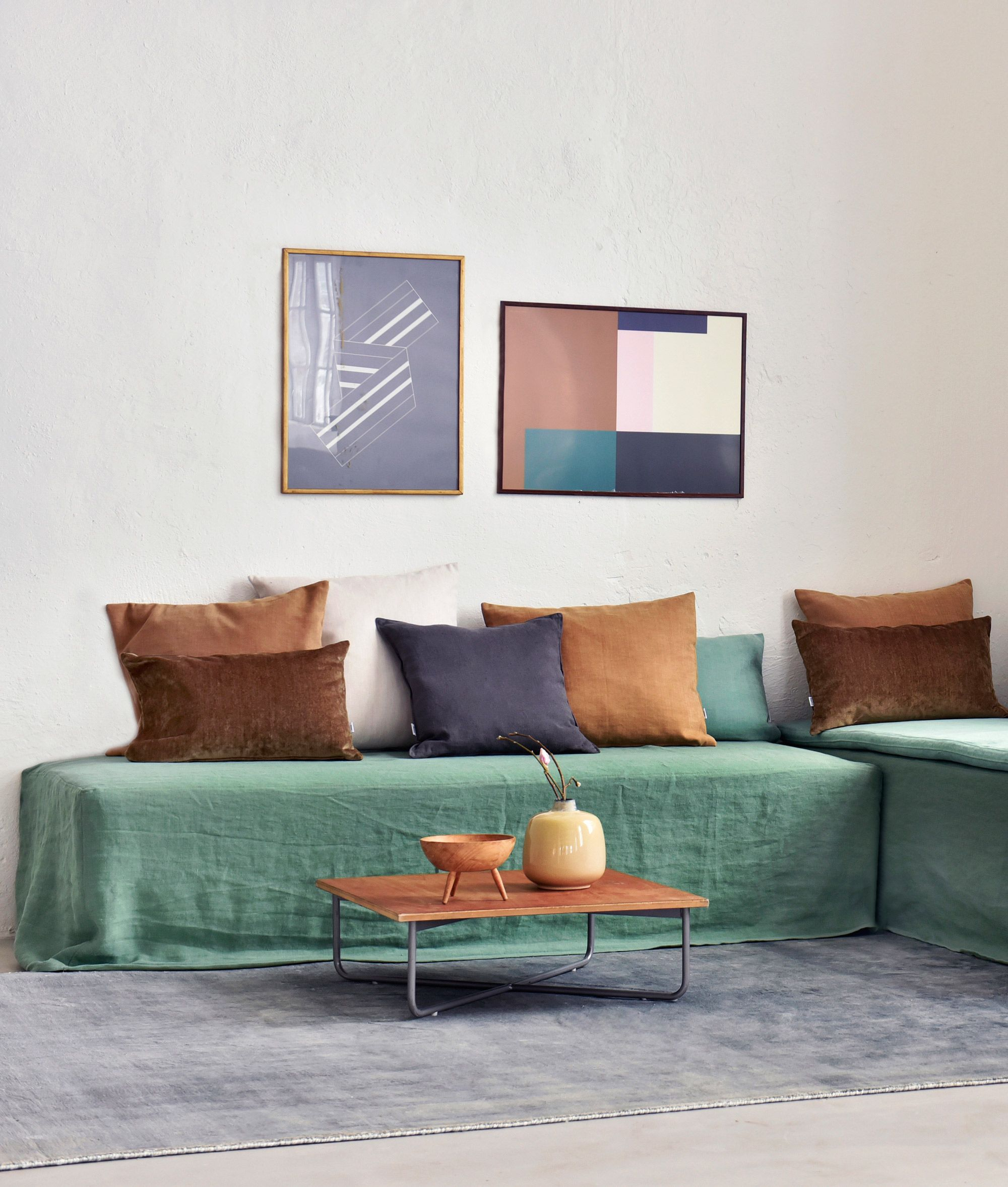 relaxed boho vibes | nod to the '70s with earthy shades of ...
