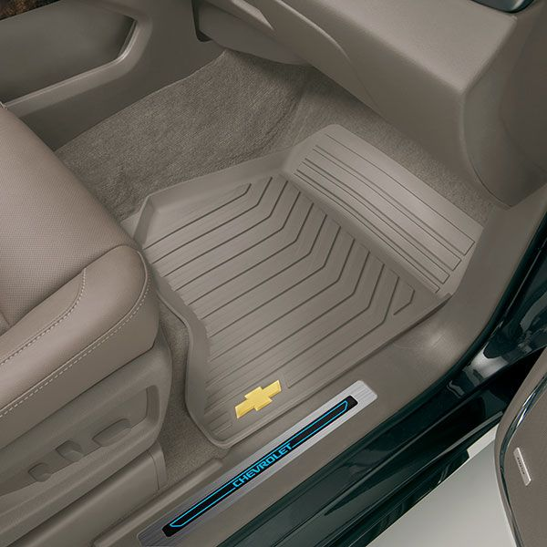 2015 Suburban Floor Mats Premium All Weather Front Dune W Chevy