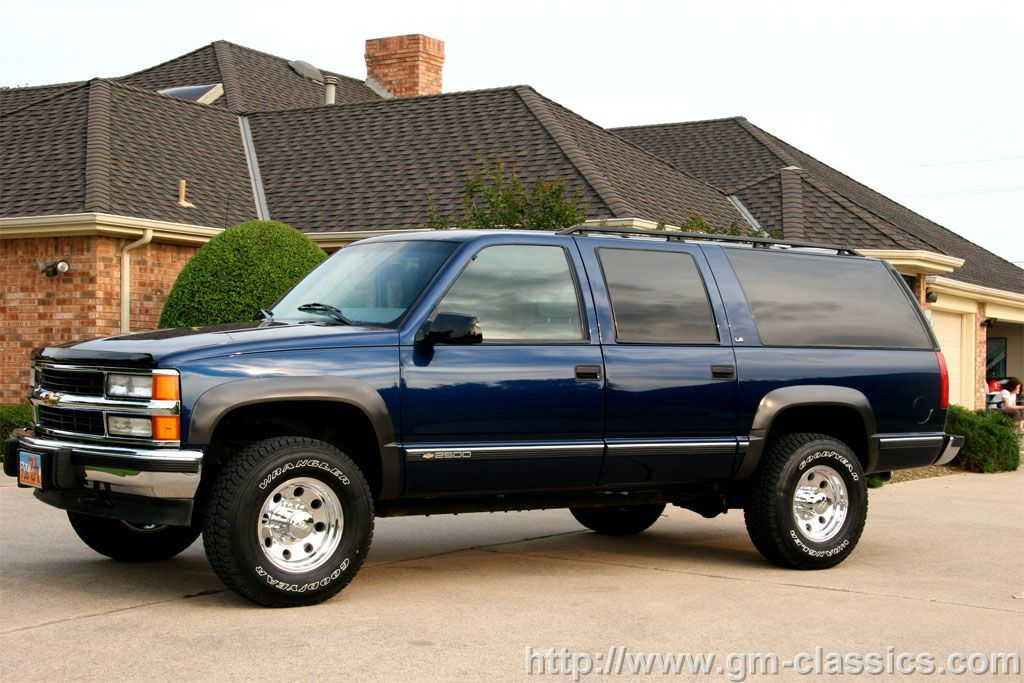 Very Nice Stock 99 Suburban Chevy Suburban
