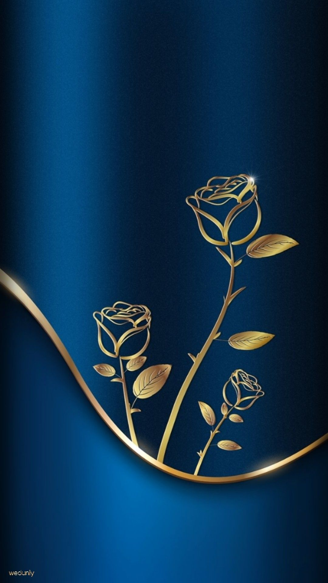 Wallpaper Blue Gold Roses Gold Wallpaper Phone Gold Wallpaper Iphone Cool Backgrounds