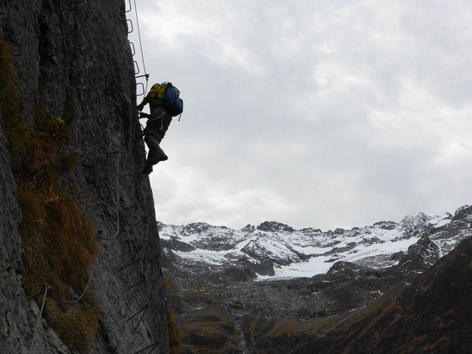 Klettersteig Fürenwand : Fürenwand klettersteig engelberg via ferrata