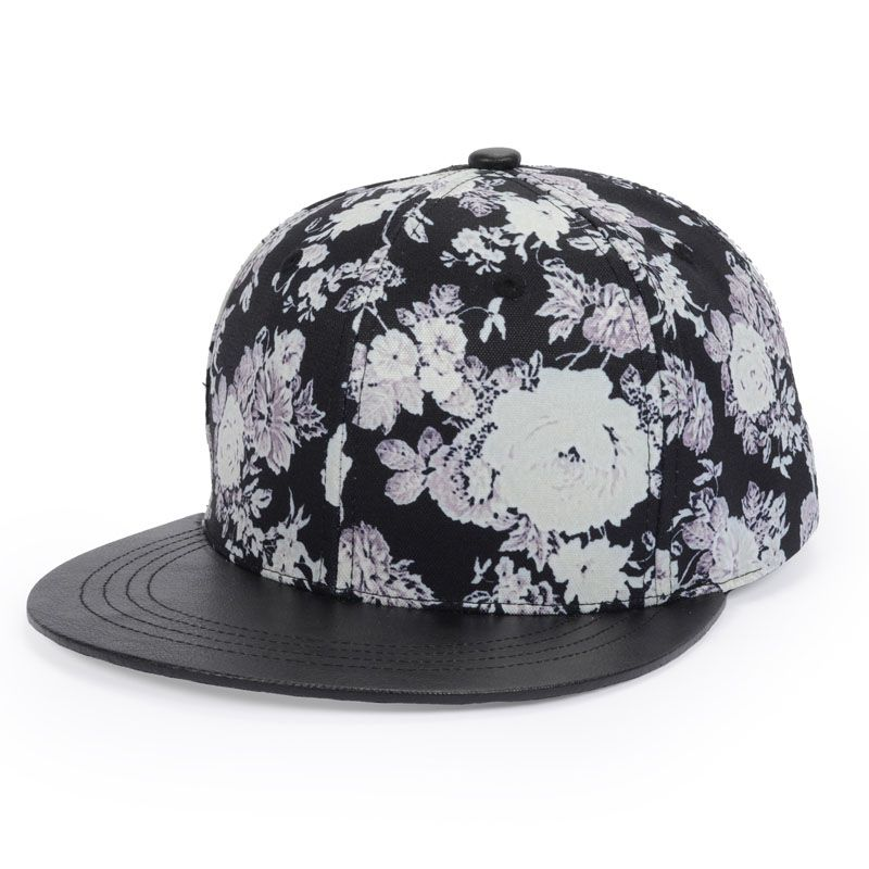 Online Shop New Design Animal Floral Baseball Caps Hip-hop Cap Flat Brim  Hats Men Women Snapback Caps Casual Sun Hat Street Style Goldtop aea7576a344f