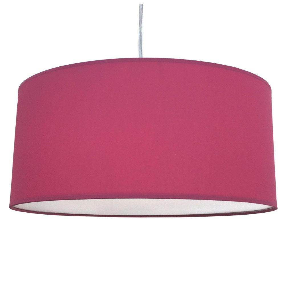 Where To Buy Lamp Shades Entrancing Drum Pendant Shade Raspberry  Miss P's Coffee Shop  Pinterest Design Inspiration