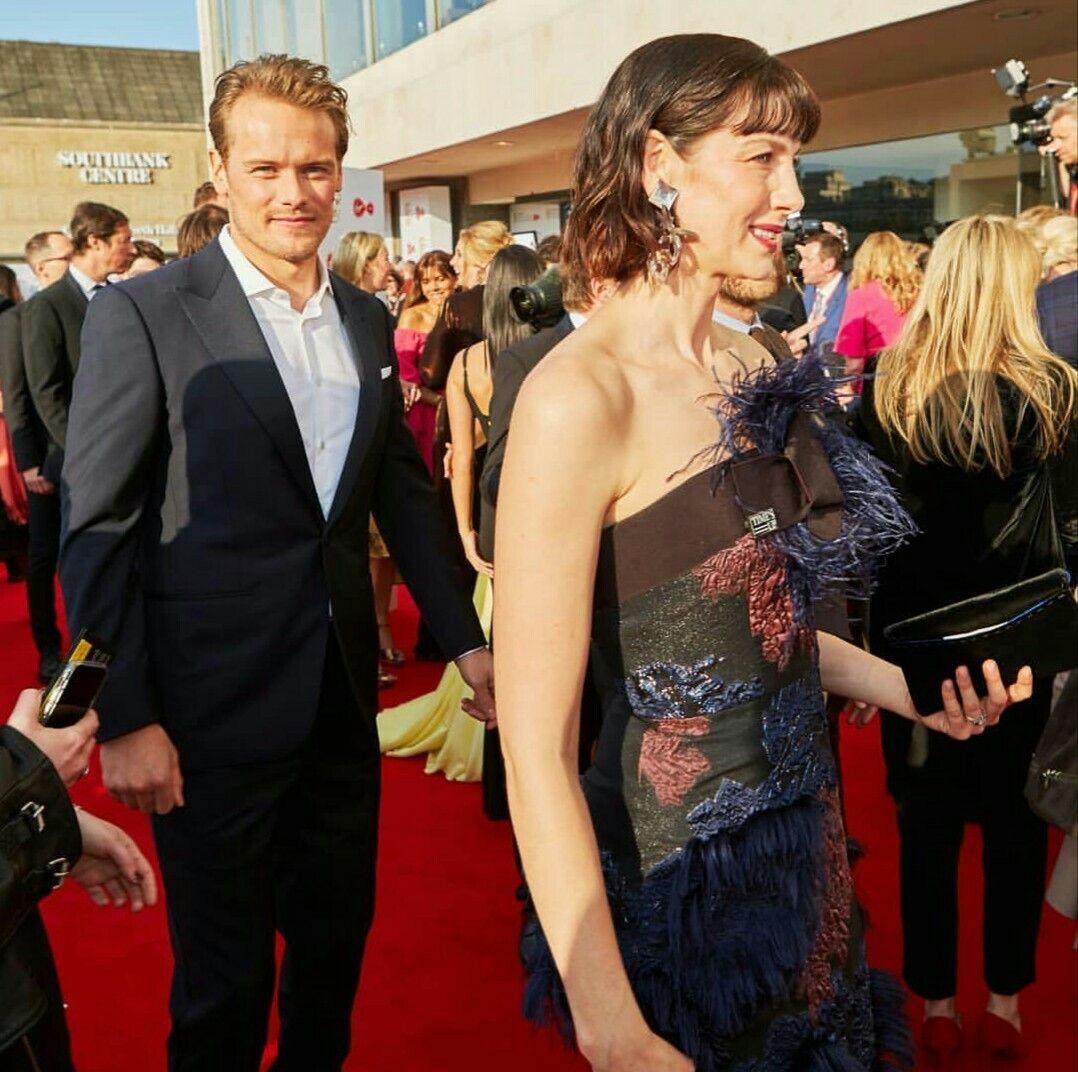Sam and Cait BAFTAS 2018 | Tv awards, Caitriona balfe, Sam