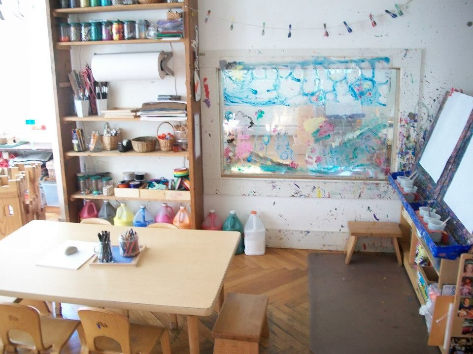 mini-atelier at Garden Gate | Language of Creative Art | Pinterest ...