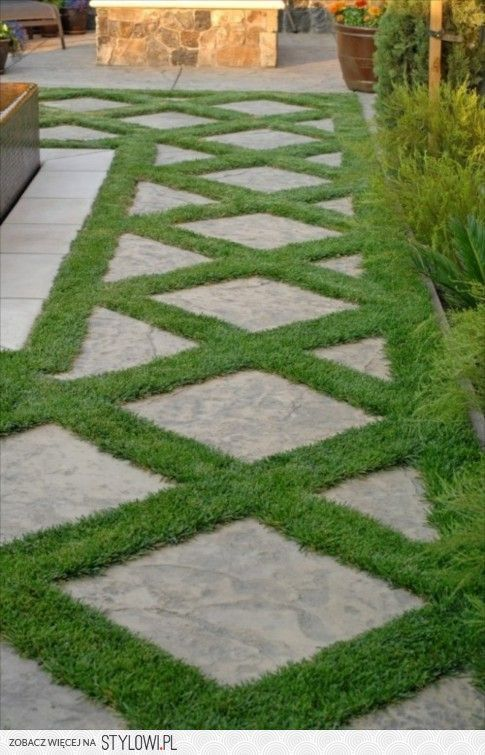 Stepping Stones On The Diagonal. Unique Idea For Walkways Or Patio Areas.  RCP Carries A Wide Variety Of Stepping Stones That You Can Use For Your  Hardscape ...