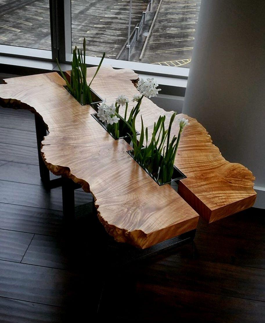 способу необычные столы из дерева фото течении двенадцати