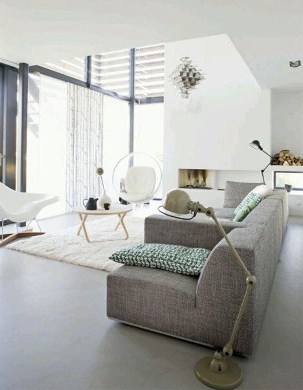 gietvloer woonkamer   interieur   Pinterest