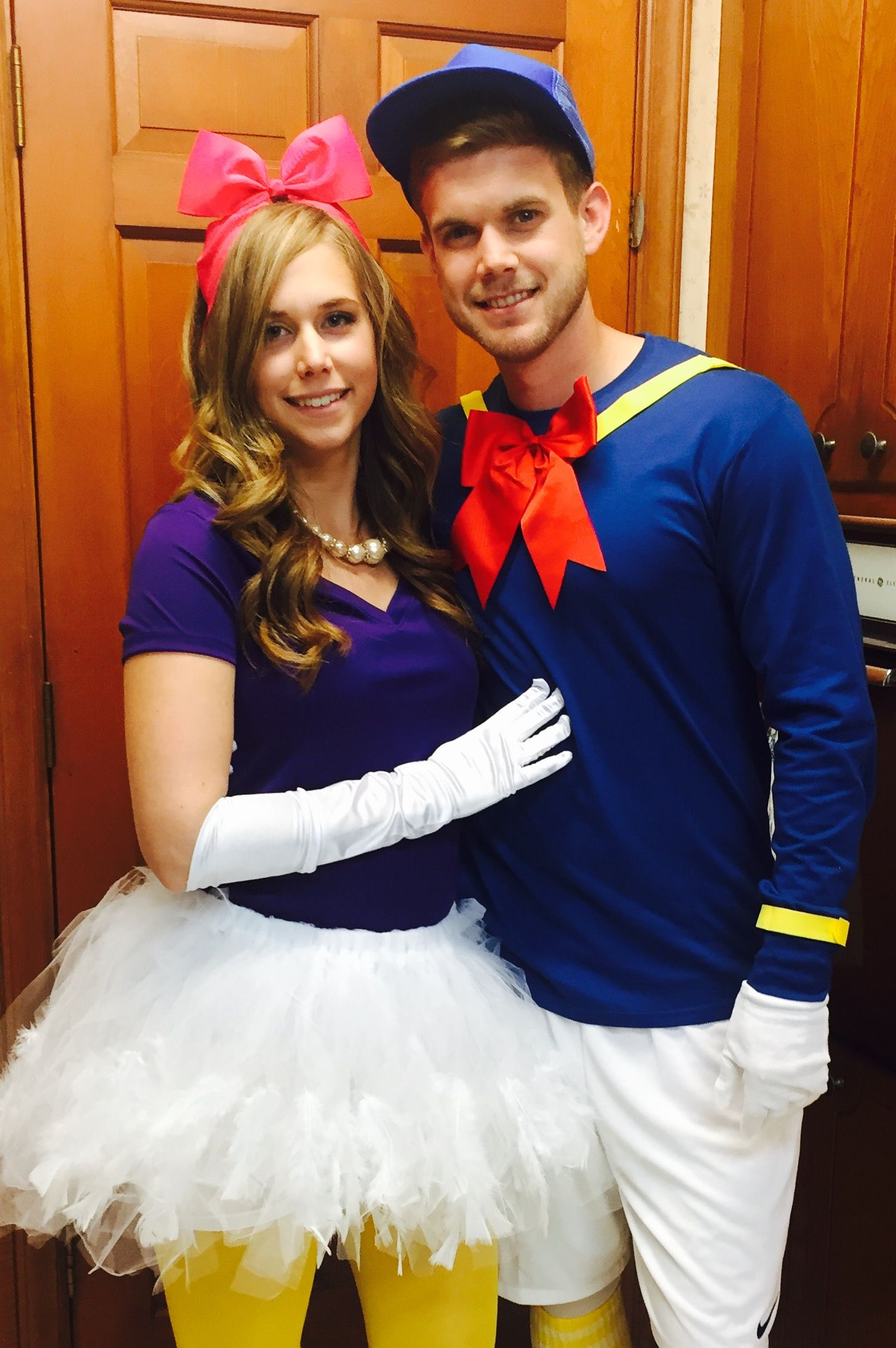 daisy and donald duck halloween costume. | halloween | pinterest