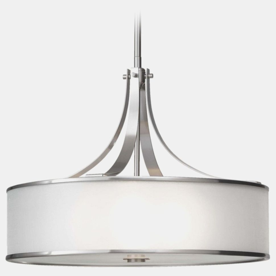 Inspiration Photo Of Drum Pendant Chandelier