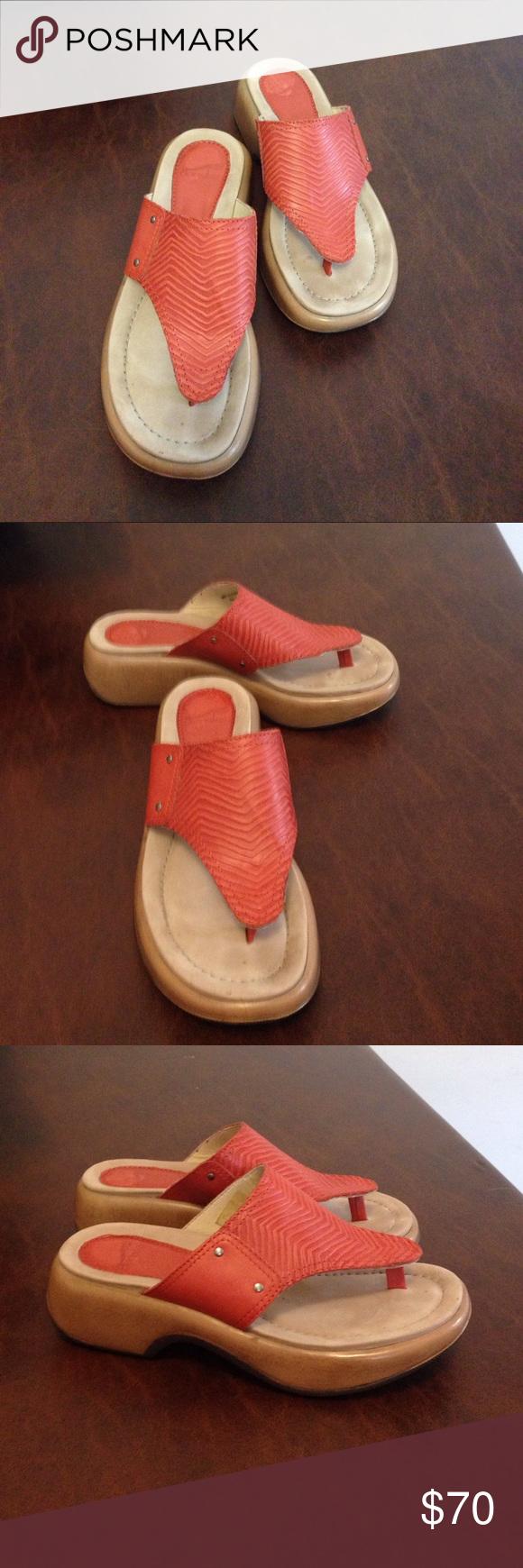 Dansko  sandals size 6 / 36 Dansko Orange sandal size 6/36. Great condition Dansko Shoes Sandals