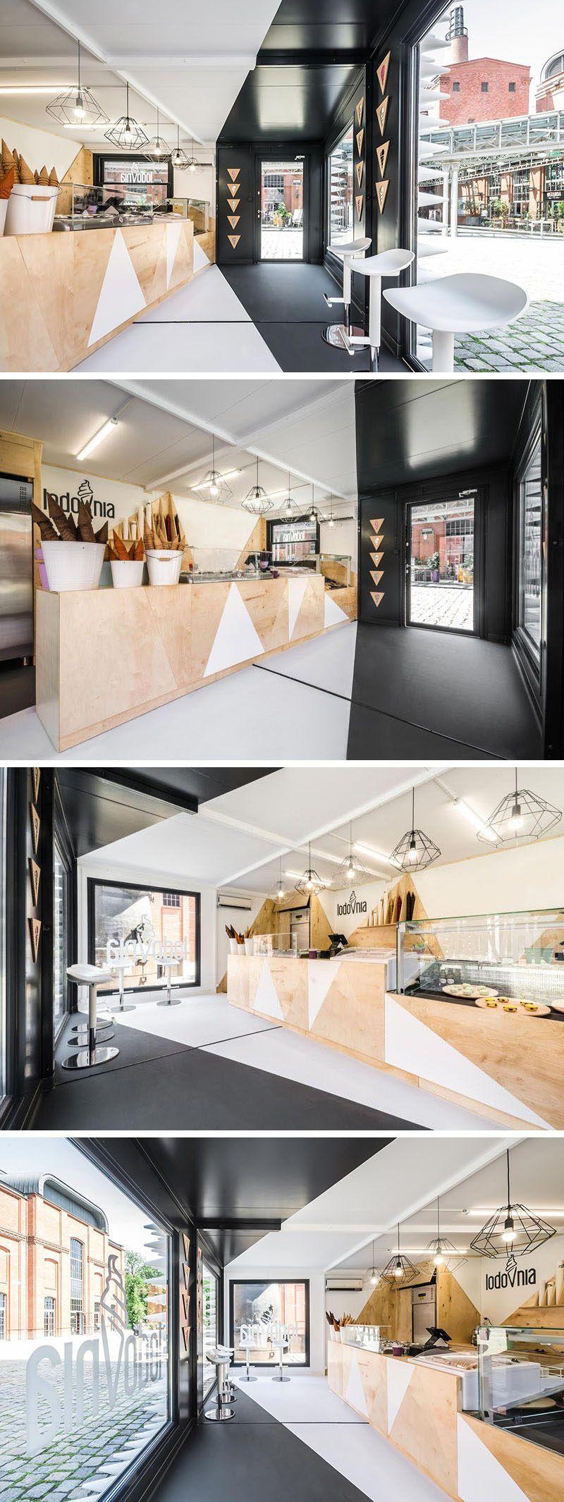luxurious interior design in a fantastic restaurant