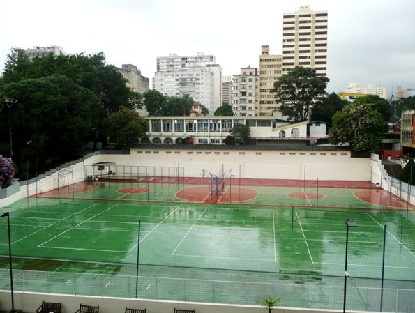 Quadras esportivas - Instituto Mackenzie