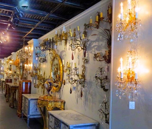 Eye for design decorating with antique crystal sconces