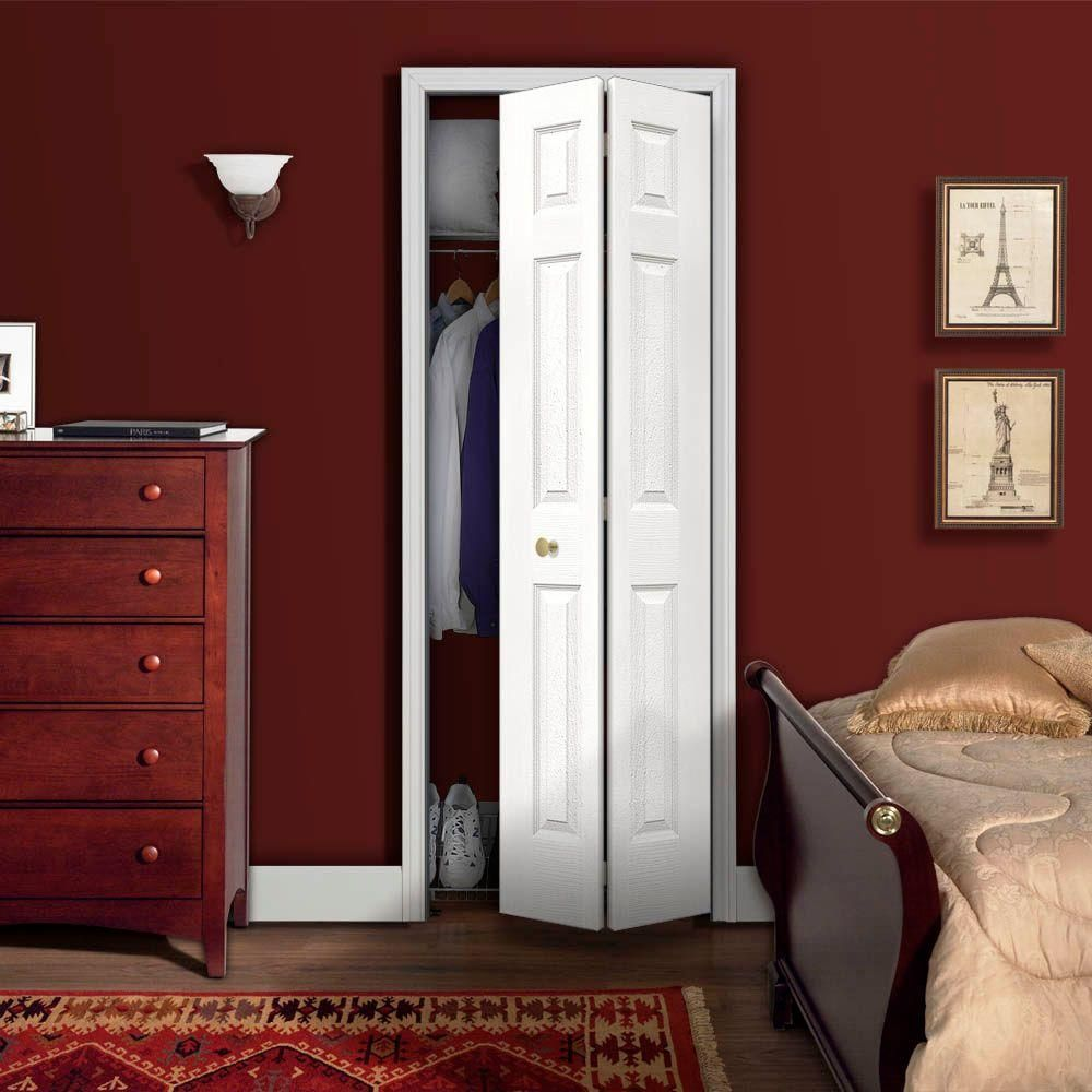 null 24 in. x 80 in. Colonist Primed Textured Molded Composite MDF ...