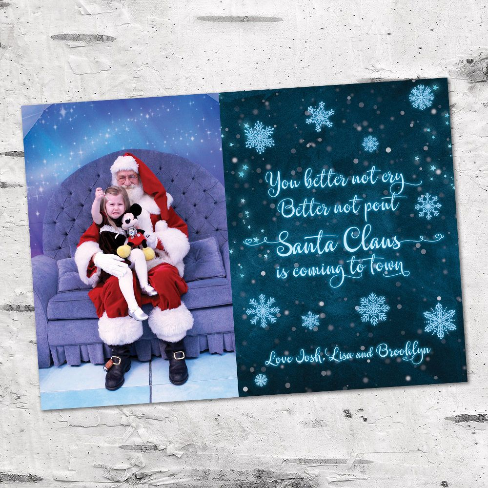Family Photo Christmas Card Christmas Card Template Holiday Card