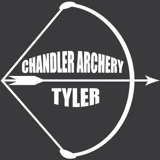 Chandler Archery Decal Custom Car Decals Pinterest Archery - Team window decals personalized