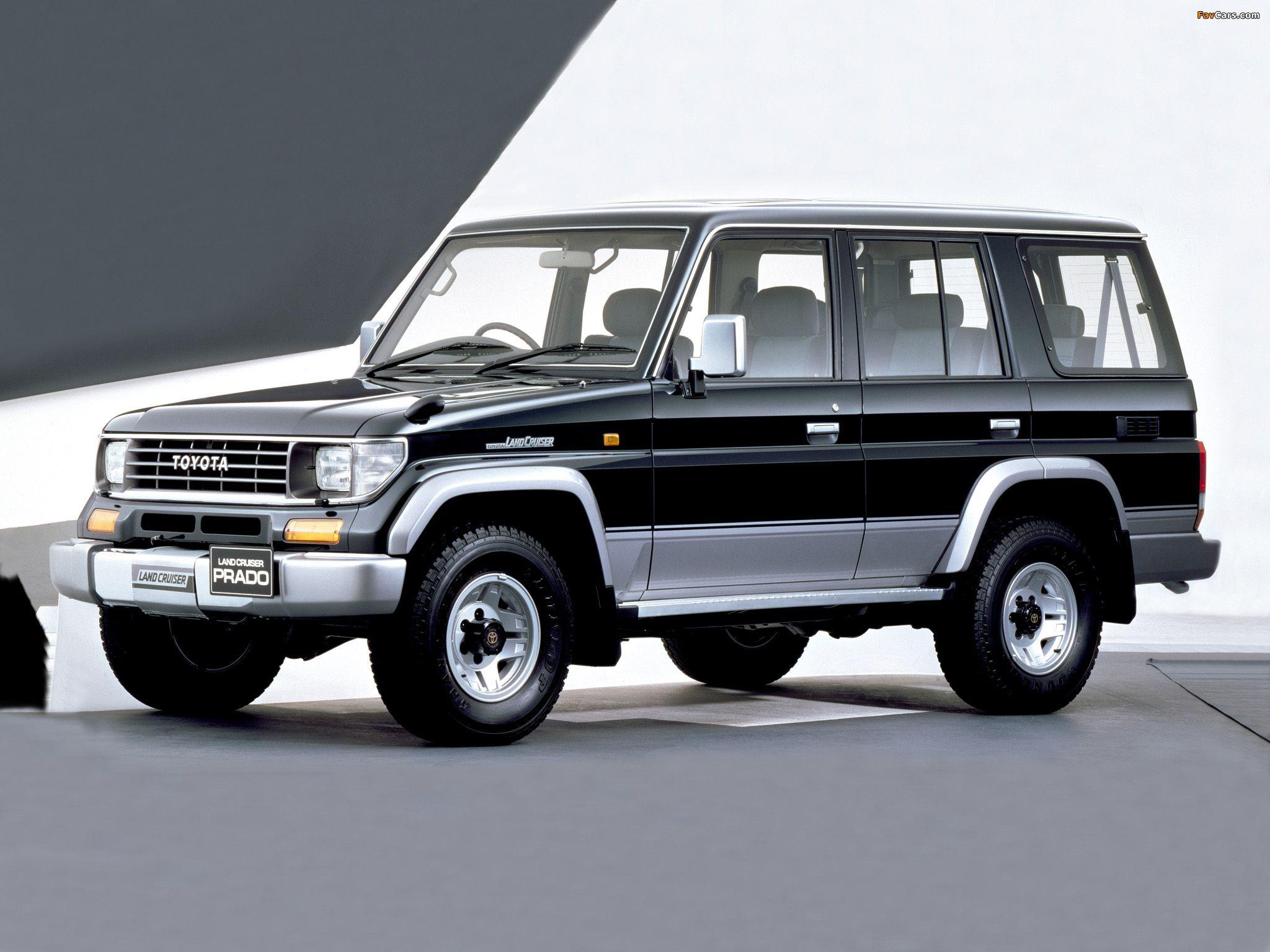 Toyota Land Cruiser Prado (J78) 199096 SUV Art