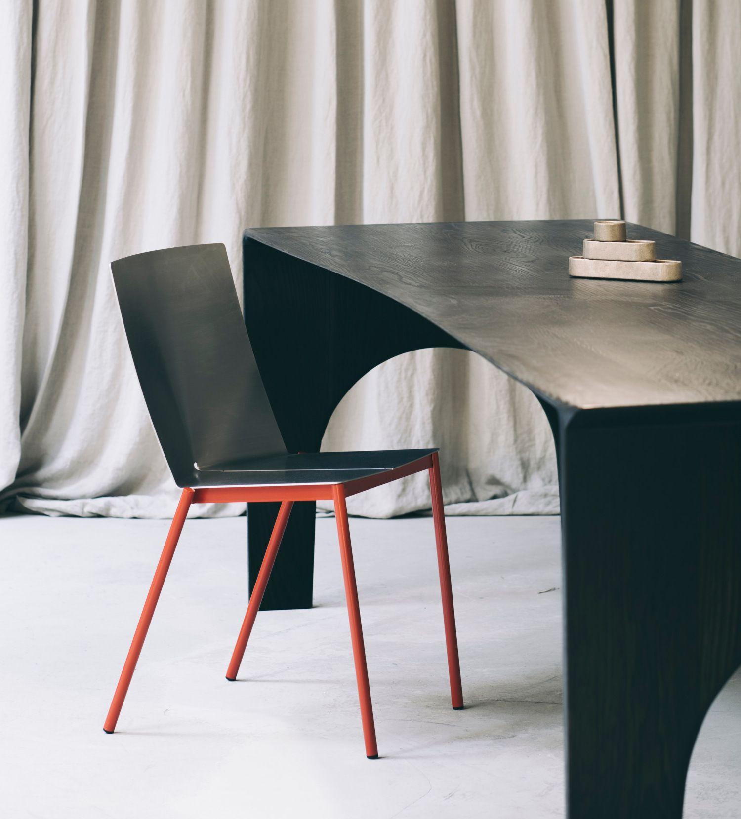 Folded Chair 01 La Chaise Pliee Par Erno Dierckx Blog Esprit Design Chaise Mobilier Design