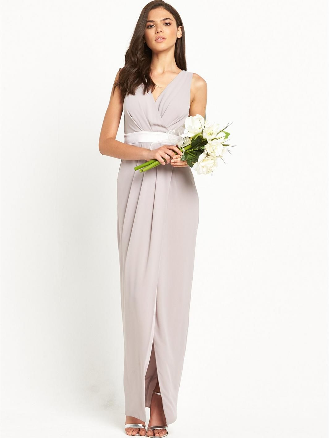 Alexandra Maxi With Back Bow Detail, http://www.very.co.uk/tfnc ...
