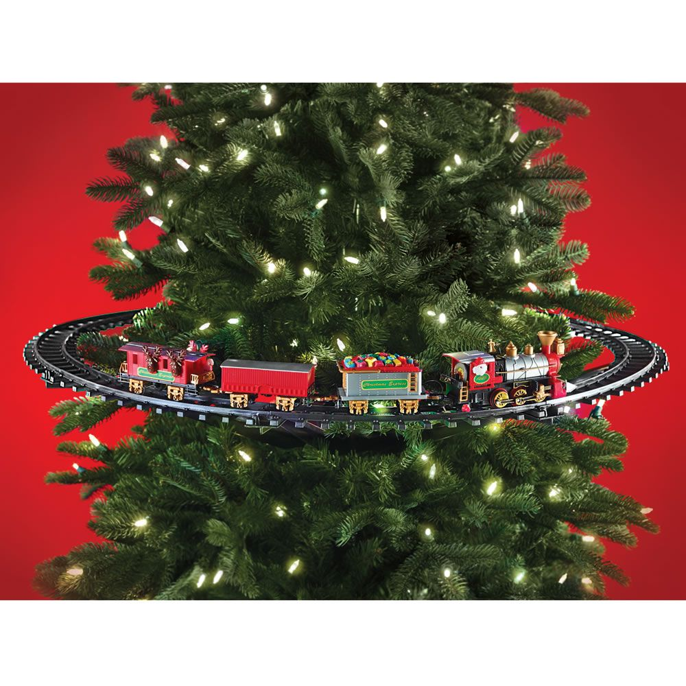 The In Tree Christmas Train Christmas Tree Train Christmas Train Harry Potter Christmas Decorations