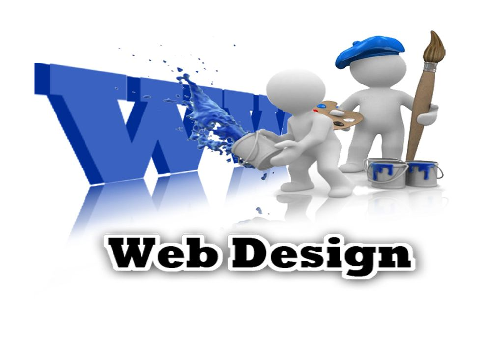 Visual result about web design