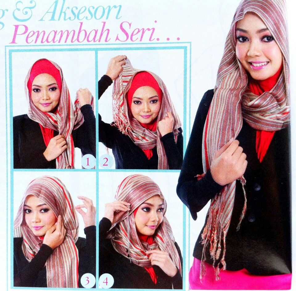 Ala Hana Tajima Simple HIJAB Tutorial Pinterest Simple