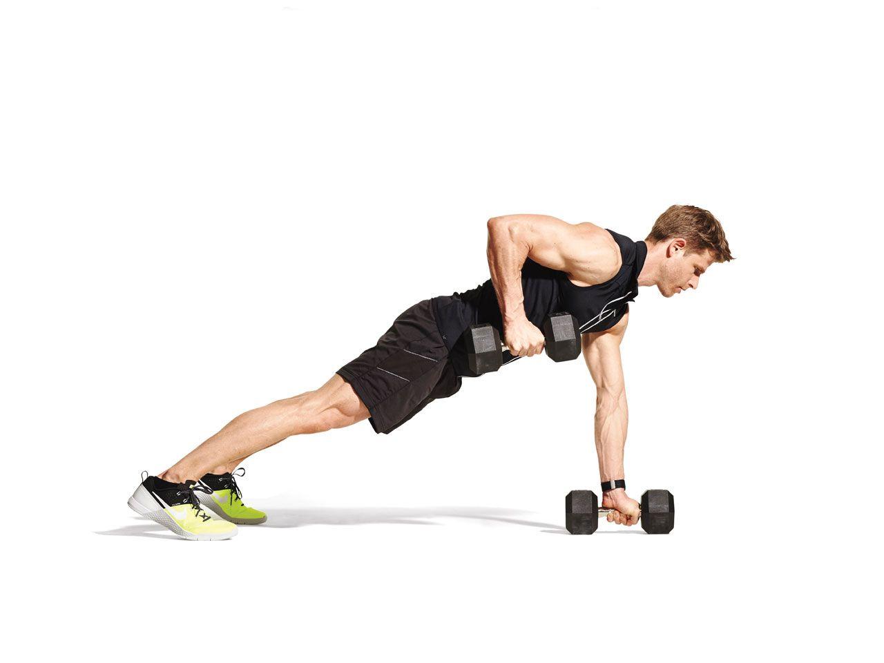 Renegade Row | Renegade rows, Dumbbell workout, Workout