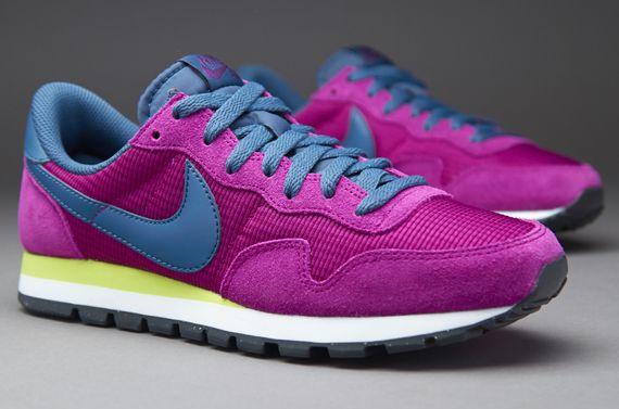 Wholesale Womens Nike Air Pegasus 83 Bright Grape/Venom Green/Anthracite/New Slate Beautiful