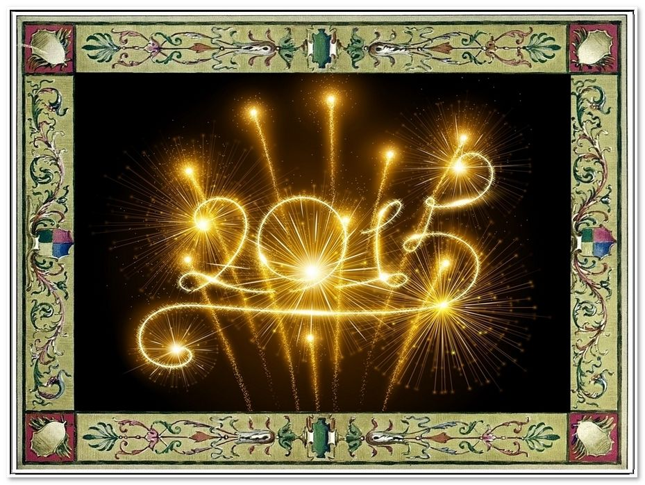 Happy New Year and may you have a Healthy and Prosperous